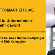 Wertewandel in Unternehmen: Interview mit Anke Nienkerke-Springer und Dirk Kannacher
